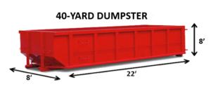 40 yard Dumpsters Rental Las Vegas NV
